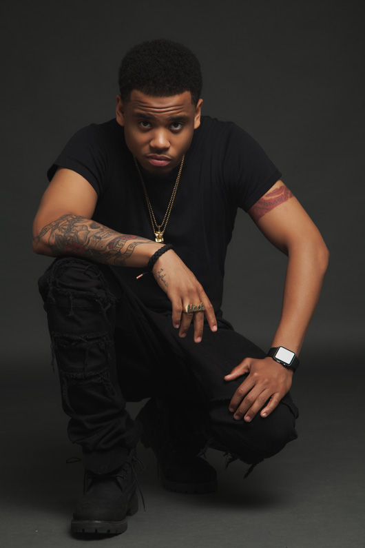 Art Basel Miami - Mack Wilds - courtesy of VH1 and Scope Art Miami