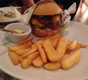Madero restaurant burger
