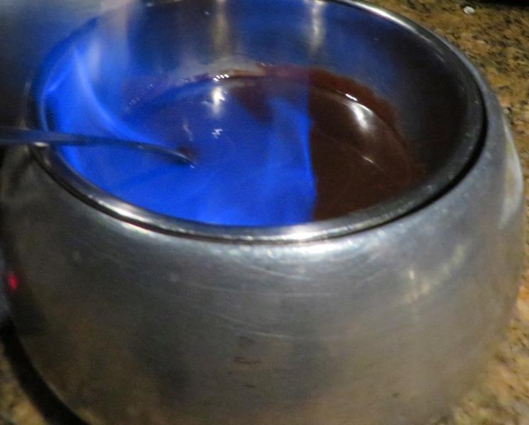 The Melting Pot 40 Years of Fondue - CHOCOLATE FONDUE