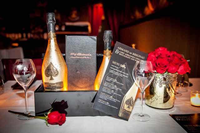 Armand de Brignac Champagne Pairing at Chef Adrianne's Vineyard