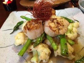 kombawa restaurant bangkok scallops