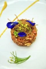 Issaya Siamese Club Yum Hua Plee (Banna Blossom and Heart of Palm Salad)