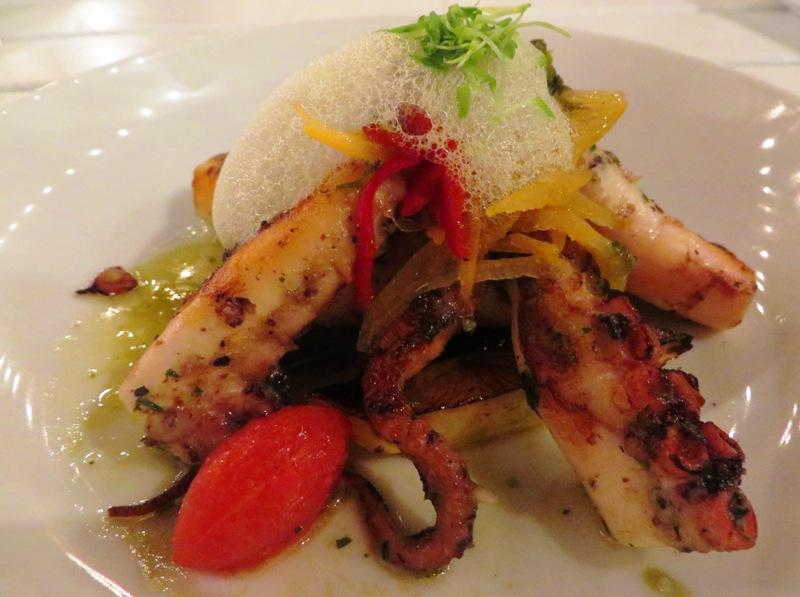 Palmeiras Beach Club – Grilled Spanish Octopus