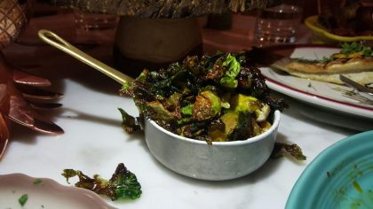 Driftwood Room Miami Beach-Brussels Sprouts