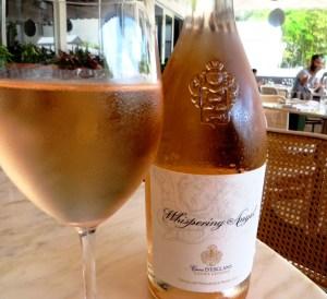 Driftwood Room Miami - Caves D'Esclans Whispering Angel Cotes de Provence Rosé