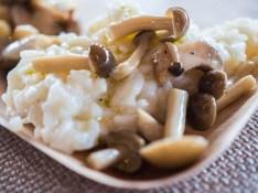 NJWFF food mushroom risotto