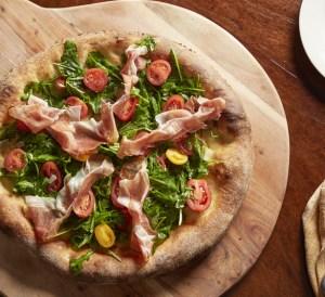 Robert Pizza Company Prosiutto and Arugula