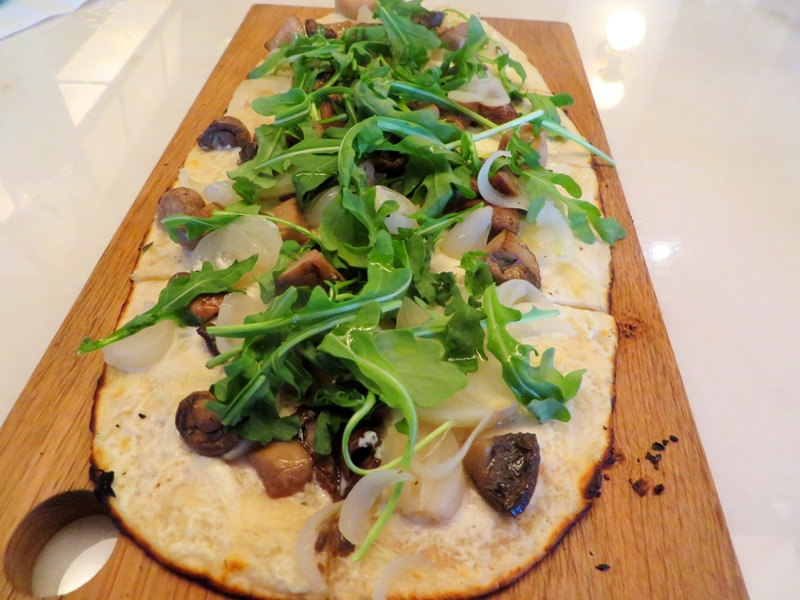 Corsair - Turnberry Isle Miami – wild mushroom flatbread