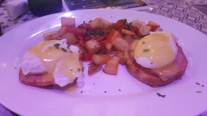Eggs Benedict Royale at Dolores But You Can Call Me Lolita