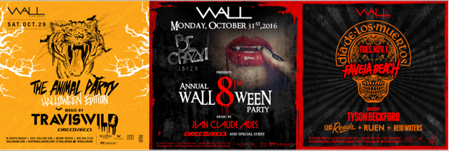 WALL Miami Celebrates its 8th Annual Halloween Party