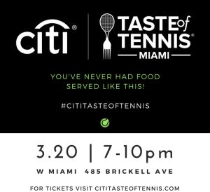 Taste of Tennis Miami