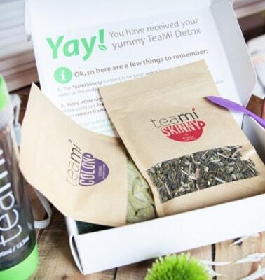 Detox tea tea bags