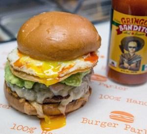 Burger Parlor Gringo Bandito Burger