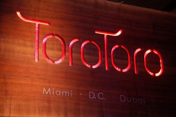 Toro Toro Sign