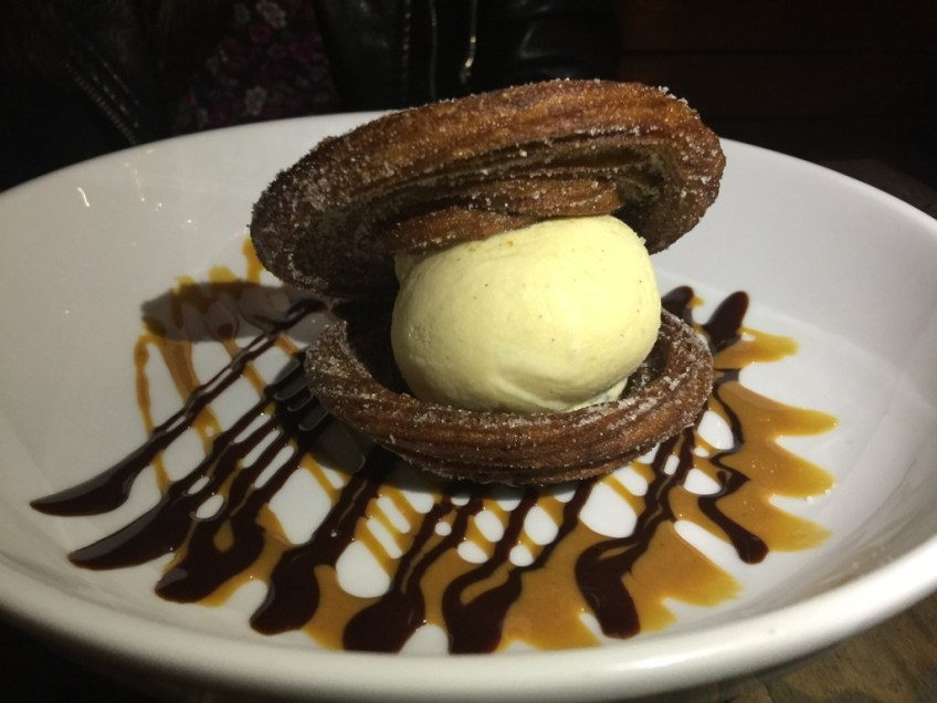 Madera Kitchen and Bar Churro Ice Cream 2