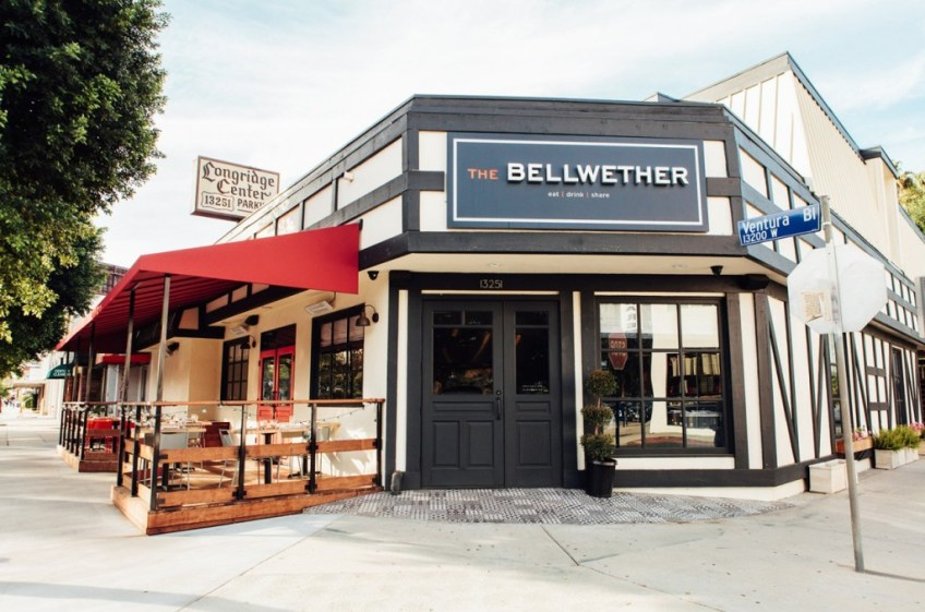The Bellwether Exterior Entrance and Sign