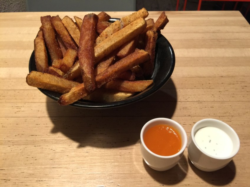 The Bellwether French Fries and sauces