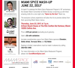 miami spice mash up 2017