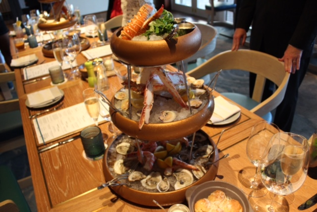 Lightkeepers seafood tower