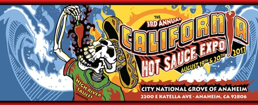 California Hot Sauce Expo Promo 2