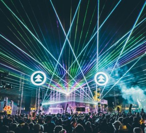 Northern Nights Festival Lazers