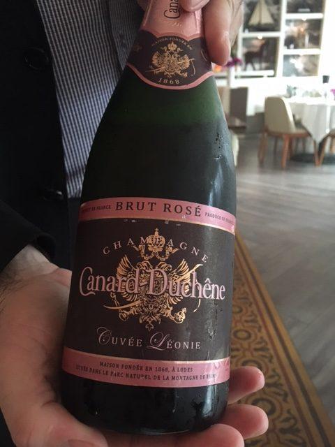 Canard duchene Rose Villa Azur