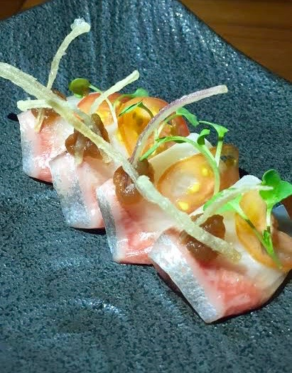 Kampachi Crudo - Lure Fishbar