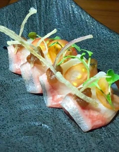 Kampachi Crudo - Lure Fishbar