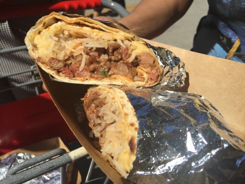 Eat Play Move Mid East Tacos Meat Burrito