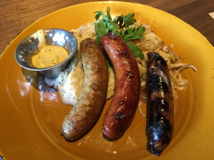 JFAT Oktoberfest German Sausage Plate