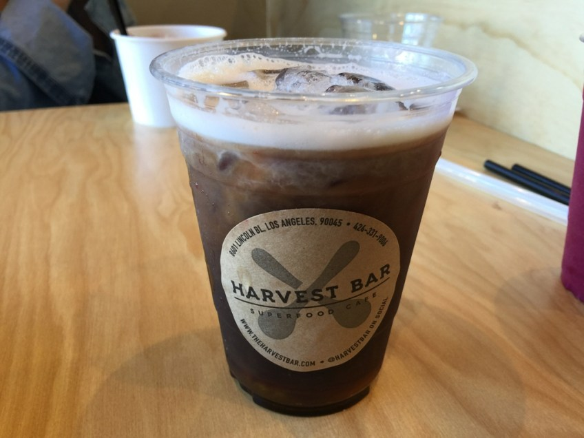 The Harvest Bar Playa homemade Cold Brew Coffee 1