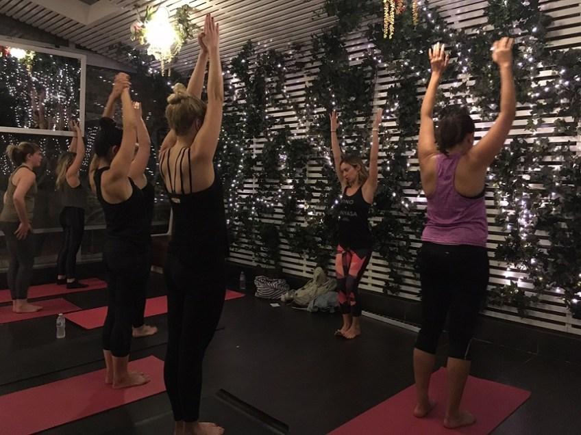 Holiday Booze Guide Yoga