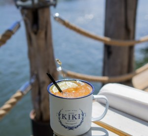 Kikie on the River Coffee by the Marina
