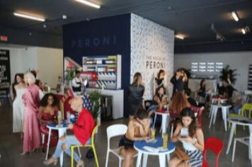 House of perinea cafe peroni crowd
