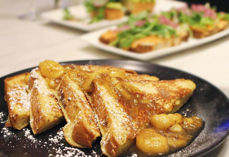 The Gwen Luxury Hotel Brioche Toast