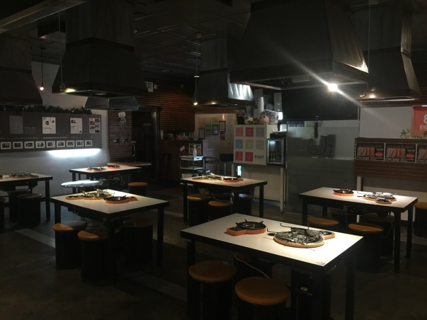Eight Korean BBQ - interior 2