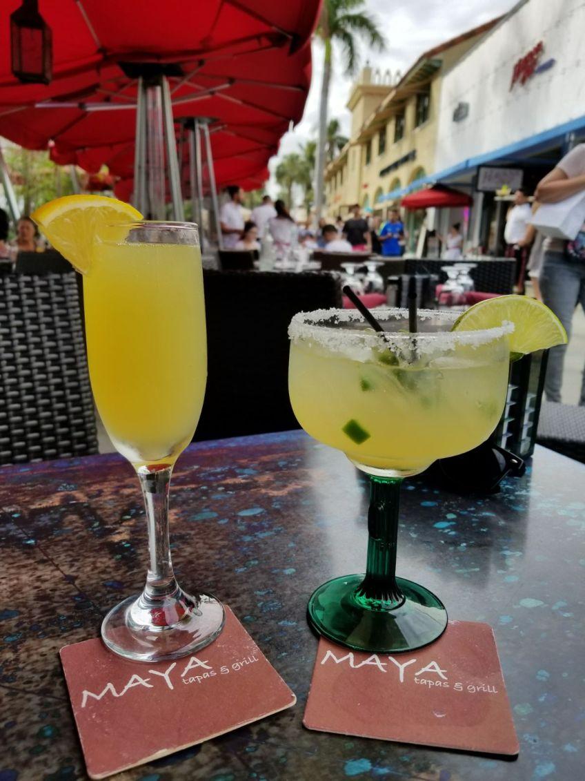 Maya's Grill Brunch Cocktails