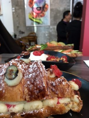 LaMuse Café Croissant Bowl