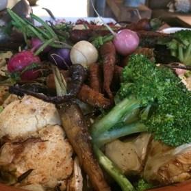 Quinto La Huella Wood Oven Vegetables