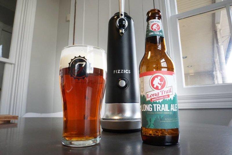 Poured beer Fizzics Waytap 2