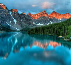 beautiful places moraine lake