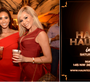 haunted hauteness luxurious all inclusive pre halloween bash