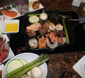 Tabletop Grilling Melting Pot Boca Raton