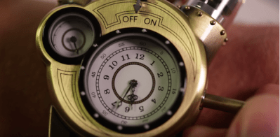 Ročna ura Tesla Watch