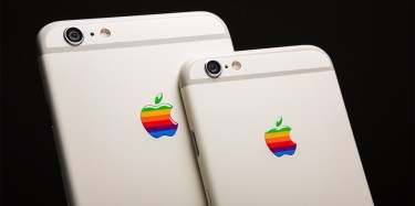 iPhone 6S in 6S Plus Retro