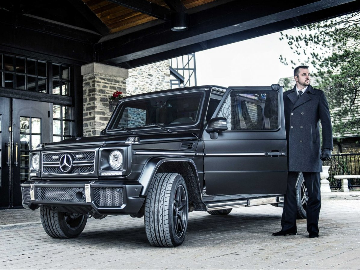 Med standardno opremo terenca Mercedes-Benz G63 AMG sodijo tudi kamere.