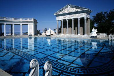 Neptune Pool, Hearst Castle, Kalifornija