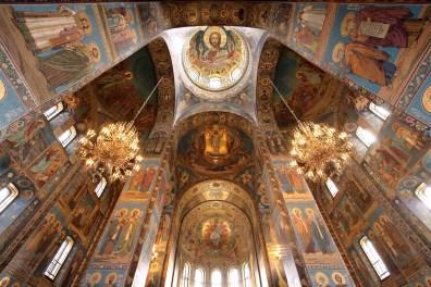 Sasse, laif/Redux: Cerkev Spas na krvi, Sankt Peterburg, Rusija