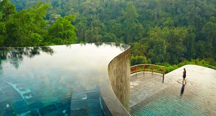 Hanging Gardens Ubud Hotel Luxury Pool, Bali