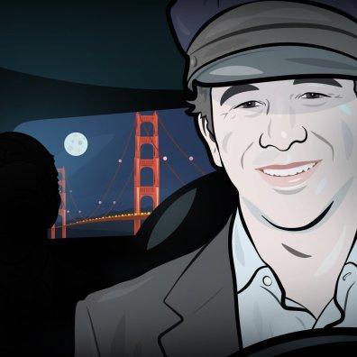 Prvi mož aplikacije Uber, Travis Kalanick, se prevaža z uporabo Uberja. Ste pričakovali, kaj drugega?